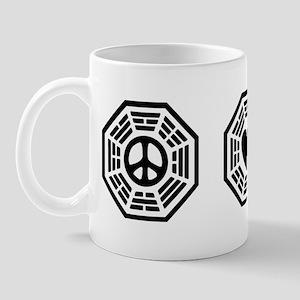 Peace Love Lost [b/w] Mug